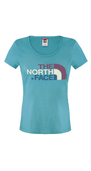 The North Face W's S/S Easy Tee Dusty Teal